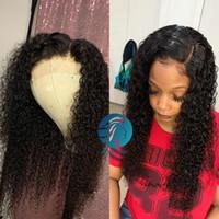 Pelucas de encaje completo con cabello bebé brasileño red rizado blanqueado lacio frente cabello humano pelucas para mujer negra remy 130% pre arrollada