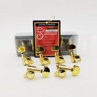 1 Set non Inline Oro Grover stringa della chitarra spine di sintonia 45 Angle sintonizzatori Machine Head (buona confezione)