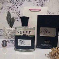 O envio gratuito de New Creed perfume Aventus para os homens 120ml com longa duração de tempo de qualidade boa alta fragrância capactity frete grátis
