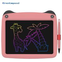 9 بوصة LCD الكتابة اللوحي رسم لوحة لعبة مجلس سبورة قابل للمسح الرقمي بلا أوراق المفكرة الخام الكتابة اليدوية الرسم للأطفال لرسم