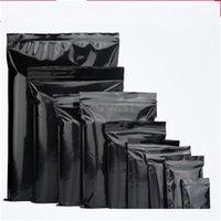 PE الذاتي ختم حقيبة سوداء اللون شقة حقائب القاع مات التعبئة الشاي الحقيبة الصغيرة الغذاء الحاويات للطباعة بالجملة 0 21zc4 وما يليها