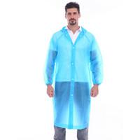 تي الجملة أزياء المعطف المتاح المعطف PE المواد الجديدة معطف واق من المطر في الهواء الطلق ركوب معطف واق من المطر للماء