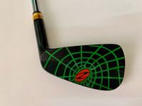 7 stücke Zodia Spinne Eisen Set Schwarz Zodia Spinne Golf Geschmiedete Eisen Zodia Spinne Golf Clubs 4-9P Stahlwelle mit Kopfabdeckung