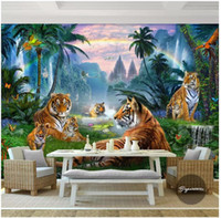 3D photo wallpaper custom 3d wall murals wallpaper Rainbow C...