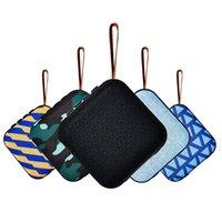 سماعات بلوتوث أفضل صندوق صغير لاسلكي صغير محمول مع بطاقة TF راديو FM راديو T5 ستيريو BT 4.2 مكبرات الصوت