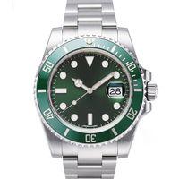 Reloj de los hombres alta calidad superior mecánico automático de 2813 relojes del movimiento de bisel de cerámica de acero inoxidable de 40 mm luminoso reloj impermeable