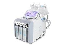 شعبية في صالون تجميل 6 في 1 مكافحة الشيخوخة H2O2 الهيدروجين الأكسجين النفاثة فقاعة صغيرة آلة الجمال الوجه