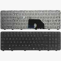 Nuevo teclado del ordenador portátil para HP Pavilion DV6 DV6-6000 DV6-6100 DV6-6200 DV6T DV6-6b00 dv6-6c00 Negro Inglés NSK-HWOUS Disposición de los EEUU del teclado de reparación