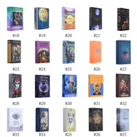 Todas las series Tarot Tarjetas Juego Nueva Llegada Deck Board Tarjetas de juego Favor Wild Foll Tarot Tarjetas Familiares Legends Animal Legends DHL Envío gratis