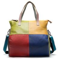 العلامة التجارية الجديدة أنيقة BB حمل المرأة حقيقية الجلود pactchwork سلسلة حقيبة يد حقائب الكتف surene pochette محفظة حقيبة تسوق كبيرة wolum