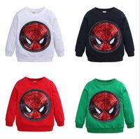 Kids Winter Spring Sweatshirt Baby Long Sleeve Cotton cartoo...