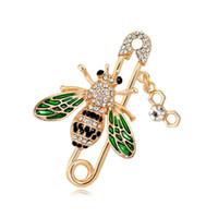 spilla Designer Progettazione di Bumblebee Pin lusso Spilla da Nuova Caldo-vendita di cristallo spilla ape femminile accessori di design