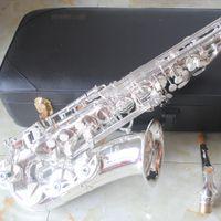 Brand New Made in Japan argentato lacca YAS 82Z Sassofono Sassofono dell'oro Alto cadere le chiavi E Sax tenore d'oro saxphone con il caso