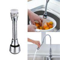 360 gradi di rotazione regolabile Acqua Risparmio aeratore girevole della cucina del rubinetto del dispersore del rubinetto ugello Filtro accessori da cucina per polverizzatori