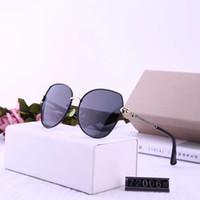 عدسات أعلى جودة كلاسيكي الطيار النظارات الشمسية العلامة التجارية رجل إمرأة نظارات شمسية نظارات توم معدن الذهب زجاج حالة الأصلي كيس # 72006 king_enen