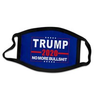Máscara Facial Supplies Trump 2020 eleição americana Dustproof impressão Máscara Universal Para adultos Bandeira Childrens americano Outdoor Máscaras LJJP253