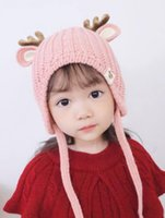 2019 New Christmas Baby Hat Autumn and Winter Multi- color Op...