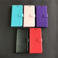 Для LG Stylo 5 K40 Aristo 4 3 Plus A10E A20 бумажник флип PU кожаный телефона крышки корпуса внутри с прорезями кредитных карт