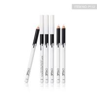 Menow P112 12 Adet / Kutu Makyaj İpeksi Ahşap Kozmetik Beyaz Yumuşak Eyeliner Kalem Makyaj Vurgulayıcı Kalem