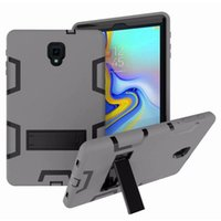 Per Samsung T590 T595 Custodia 3 in 1 Hybrid Armour Tablet Custodia per PC Samsung Tab A 10.5 Custodie posteriori 10