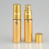 5ml Garrafa de Spray Garrafas de vidro portáteis Transparente Vidro spray garrafa vazia garrafa de perfume 200pcs Garrafas Embalagem CCA12217 recarregáveis
