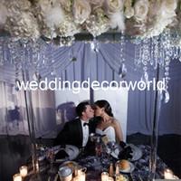 판매 decor205에 도매 아주 큰 웨딩 장식 크리스탈 candelabra의 centerpieces