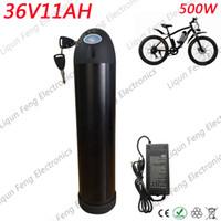 Güçlü Elektrikli Araç Elektrikli Bisiklet Tekerlekli Motorlu Bisiklet Aküsü 36V 11AH Su Şişesi 2A Şarj Cihazı ile Lityum İyon Pil.
