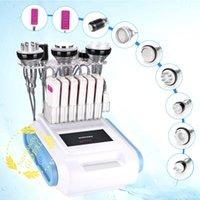 Venda quente Unoisetion cavitação 40K RF cavitação 40K pele Vacuum RF de aperto Photon Microcurrent máquina para corpo emagrecimento