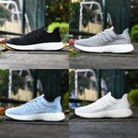 2020 nuevos hombres zapatos de diseño treeperi Basf corredor 711 v2 de triple negro blanco frío gris hielo hombres azules mujeres que dirigen las zapatillas de deporte