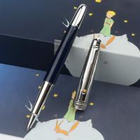 عالية الجودة القلم القليل الأمير الطيار الأقلام مع غرامة نحت قبعة القرطاسية الفاخرة مكتب الأعمال مكتب الكتابة الكرة القلم