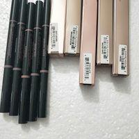 VERFASSUNG Augenbrauen Enhancers Makeup dünnen Augenbrauenstift Gold Doppel endete mit Augenbrauenbürste 5 Farbe Ebony / Medium / Soft / Düster / Schokolade