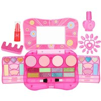 Simulation Children' s Toys Nail Polish Makeup Box Cosmet...