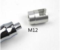 Auto Aluminiumlegierung Dent Repair Puller Kopf PDR Adapter Schraubenspitzen für Slide Hammer und Pulling Tab M12 Tool Autozubehör