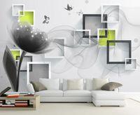 Duvarlar için duvar kağıdı 3d fantezi ipek tv arka plan duvar için 3 d