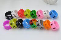 Bague silicone anneau de beauté anti-dérapant anti-dérapant bande de silicone de vape de diamètre de 18mm pour les mod