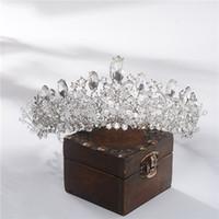 Sposa Corona Copricapo 2020 Principessa ornamento dei capelli europei e americani di lusso gioielli di cristallo Handmade Super Immortal Matrimonio dei capelli del cerchio