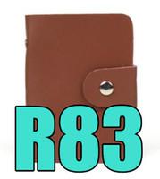 2019 Q2 BR83 Nuovo stile Borsa per carte da donna Mini porta valigie, porta tessere identificative per carte di credito BR 83 Borsa multi-card da donna