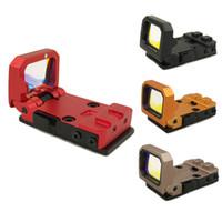 Tactical Flip Roter Punktvisier Vism Holographischer Reflexfaltenvisier mit 20mm und G-Mount