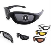 Motosiklet Gözlük Ordu Polarize Güneş Gözlüğü Bisiklet Gözlük Açık Spor Bisiklet Gözlük Rüzgar Geçirmez Gözlük Erkekler Gözlük Ücretsiz Kargo