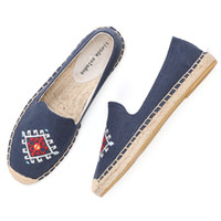 Tienda Soludos женская мода плоская обувь 2019 срок ограниченной сроки Продажа конопли Zapatillas Mujer повседневная ленивая эспадрильская квартира женщина