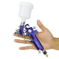 AETool 0,8mm / 1,0mm Düse H-2000 Professionelle HVLP Spritzpistole Mini Air Lackierpistolen Airbrush Für Malerei Auto Aerograph