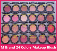 وجه الحمرة مستحضرات التجميل مستحضرات التجميل مسحوق ميض أحمر الخدود 24 لون SHEERTONE BLUSH MARGIN PINCHME PINEKSWOON 6G