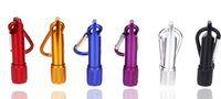 Светодиодный фонарик брелок из алюминиевого сплава Мини Карманный брелоков Handy Свет Кемпинг фонарик факел лампы Свет YSY220-L