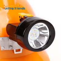 Hunting Friends Rechargeable Cap Mining Lamp Waterproof LED Miner Lamp Explosion Roof Headlight for Outdoor Professional Works