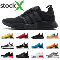 Stock x nmd r1 Hu human race Pharrell Williams men women run...