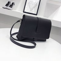 New Arrival Korean Women Messenger Bags Pu Leather Solid Col...
