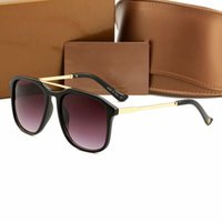 New Brand Designer Eye- catching Sunglasses Womens Men Sun Gl...