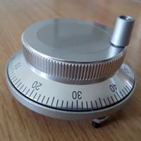 نوع لوحة عجلة اليد الإلكترونية CNC عجلة اليد نبض مولد قطرها 80 60MM عجلة يد كبيرة جولة