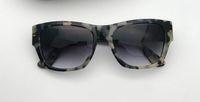 도매 디자이너 선글라스 0601 클래식 판자 남성 광장 안경 최고 품질 레저 스타일 안경 100 % UV400 보호 상자