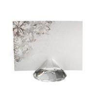 100 sztuk Imitowany Kryształ Diament Place Uchwyt Karty Posiadacze Ślub Uchwyt Nazwa Uchwyt Party Table Decoration Gifts